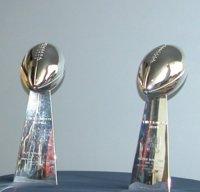 Denver Bronco Super Bowl Trophies