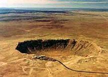 metero-crater