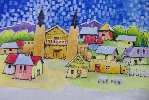 las-trampas-village-by-robert-yackel1