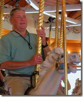 Bob on Spokane Carousel