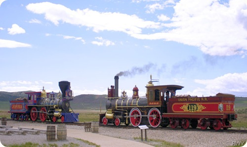 Golden Spike - Meeting of the Trains