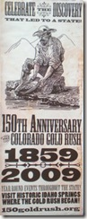 Gold Rush 150 Banner