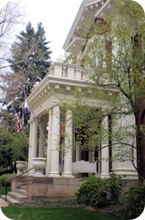 Govenor's Mansion Front