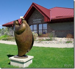 Loveland Visitor Center with Bronze Sculpture