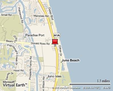 Hurricane Cafe, Juno Beach, Florida