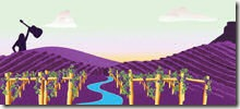 Palisade Bluegrass Poster
