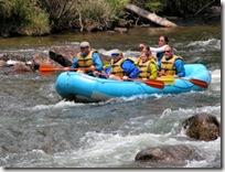 Rafting Taylor River