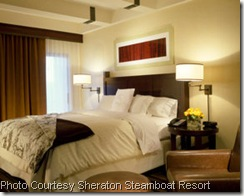 Sheraton Steamboat Room