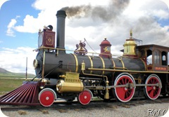 X - Golden Spike - Engine 119