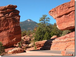 Garden of the Gods Formations