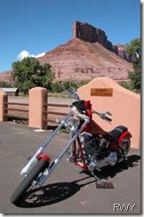 Motorcycle at Gateway