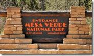 02 - Mesa Verde Sign