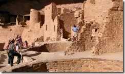 12 - Family at Cliff Palace