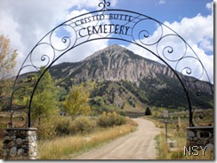 Crested Butte Cemetery Arch