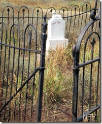 Crested Butte Cemetery Open Gate