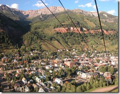 Gondola View of Telluride