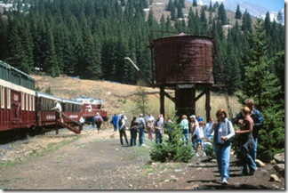 Train_Water Tower_Leadville