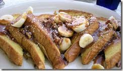 Banana Praline French Toast
