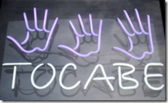 Tocabe Neon Sign