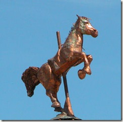 Carousel Top Sculpture