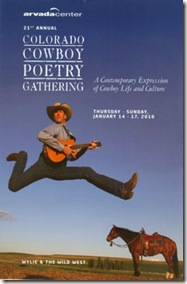 Cowboy Poetry_Arvada Center 2010