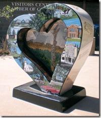 Loveland Heart Sculpture