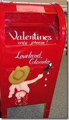 Loveland Valentine Mailbox - B