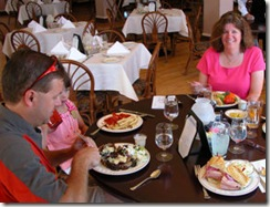 Lunch at Lake Yellowstone Lodge