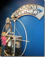 Science Museum - Falling Feather