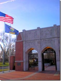 Garden City Zoo - Entrance