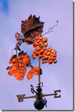 Vine Weather Vane
