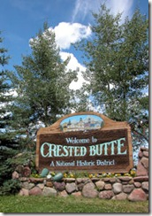 Crested Butte Sign