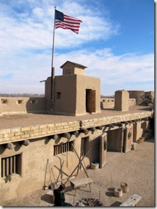Fort with Flag 2