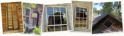 View Windows of Bannack