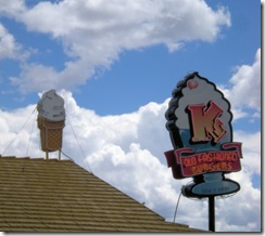 K's Dairy Delite Sign