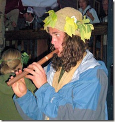 Flute Player - B