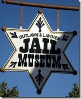 Jail Museum Sign - B