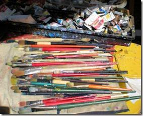 Paint Brushes - B