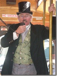Tour Guide on Trolley - B
