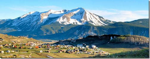 From Mt. Crested Butte - B