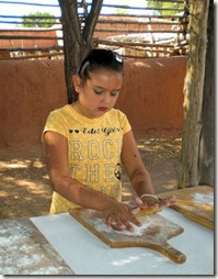 Golondrinas Making Tortillas - B