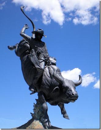 Bull RiderSculpture - N - B