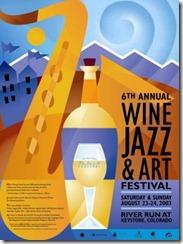 Keystone Wine and Jazz Poster