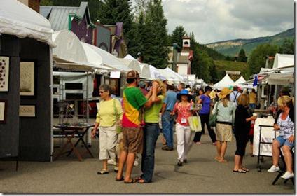CB Art Festival Street Scene -