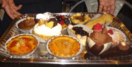 Old Martina's Hall - Dessert Tray