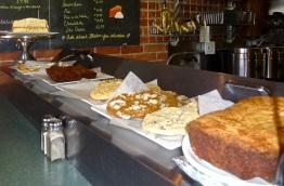 Deserts at Cafe Cornucopia