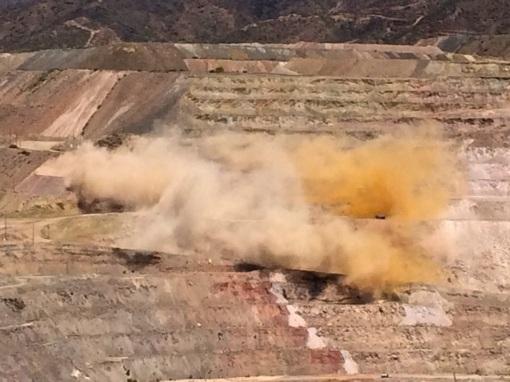 Ray Mine Blast