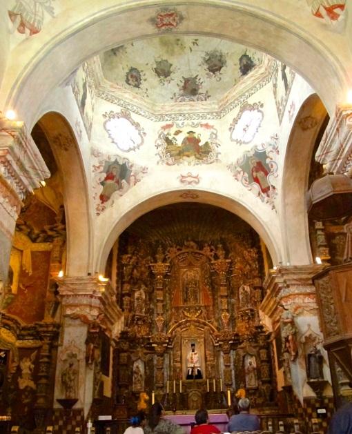 San Xavier del Bac Interior