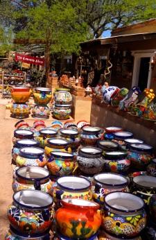 Tubac Colorful Pots