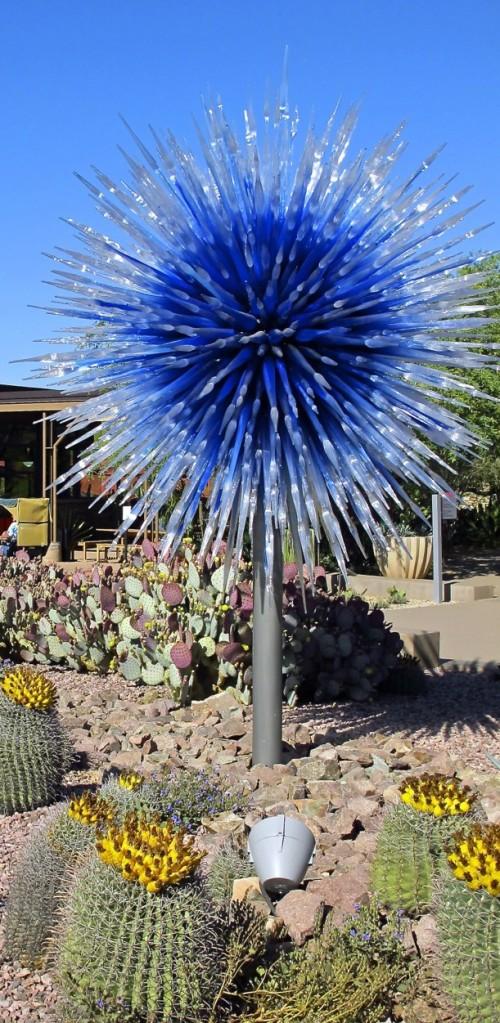 AZ - Blue Spiky Orb